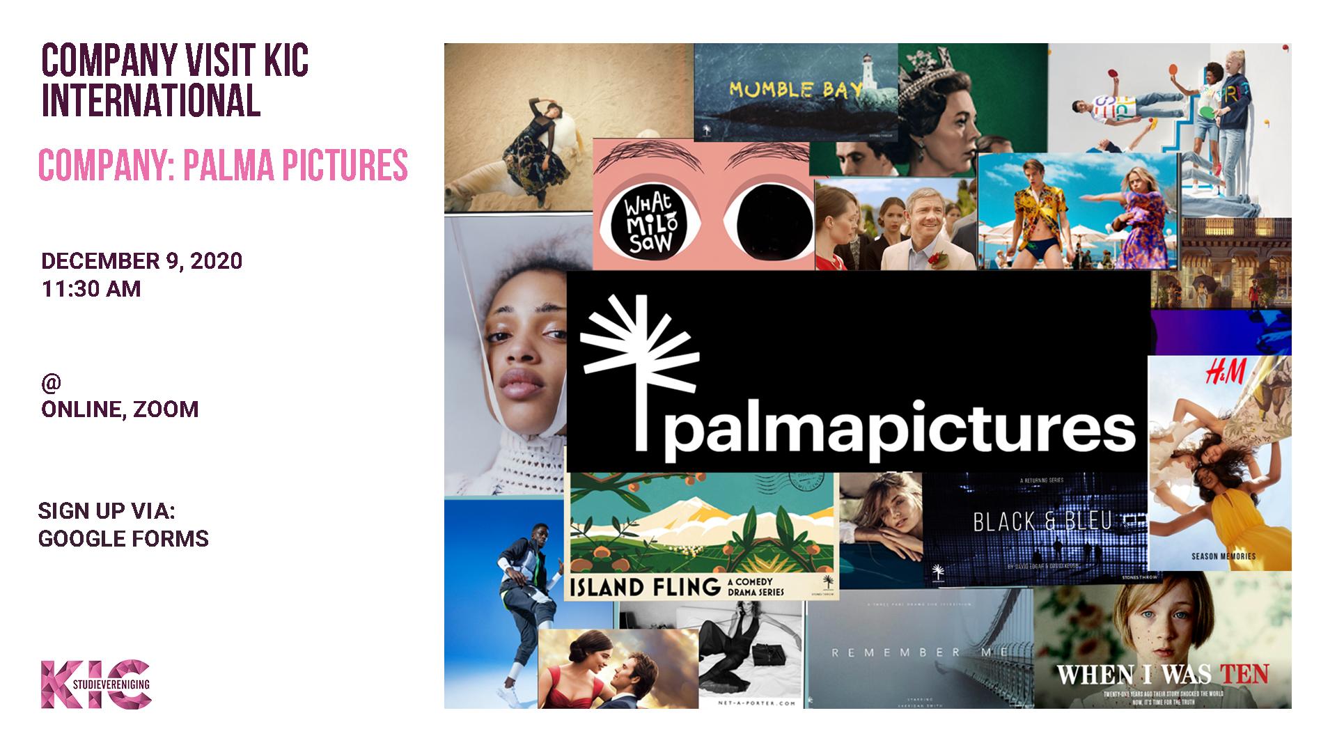 KIC International presents: Palma Pictures
