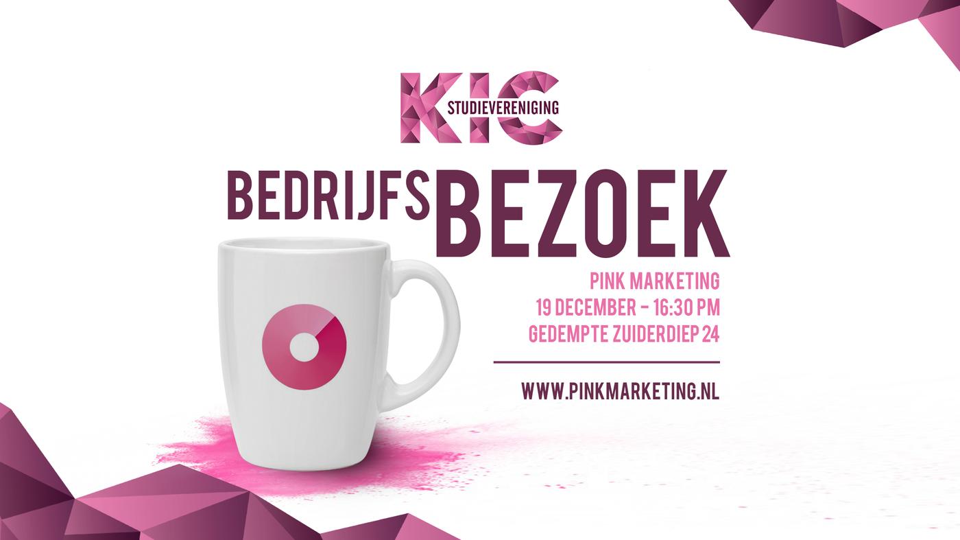 KIC bedrijfsbezoek: Pink Marketing