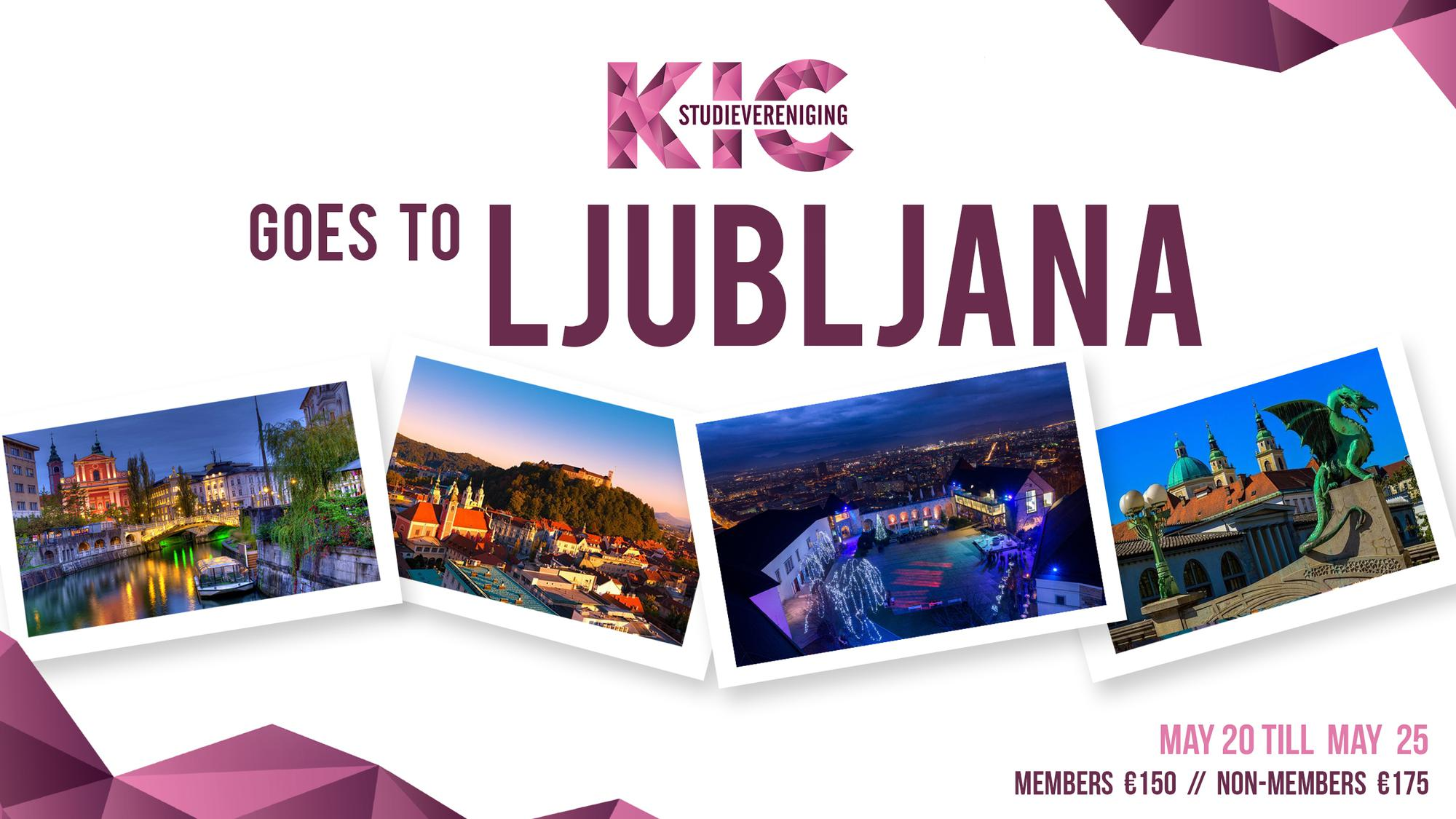 KIC Trip Abroad: Ljubljana