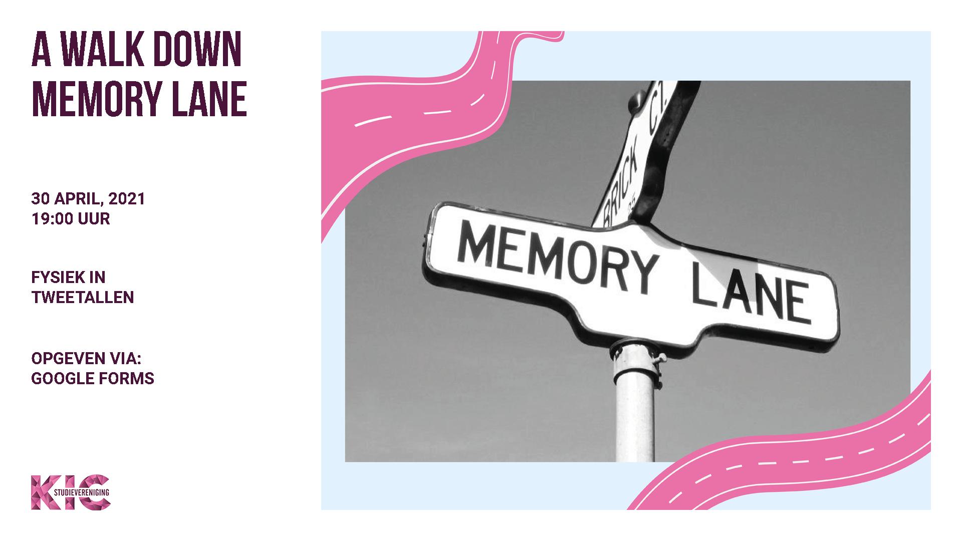 KIC presents: A walk down memory lane