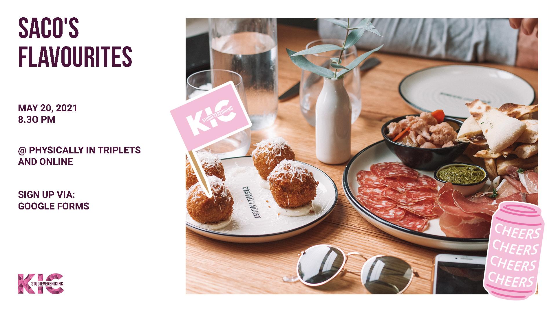 KIC presents: Saco's flavourites