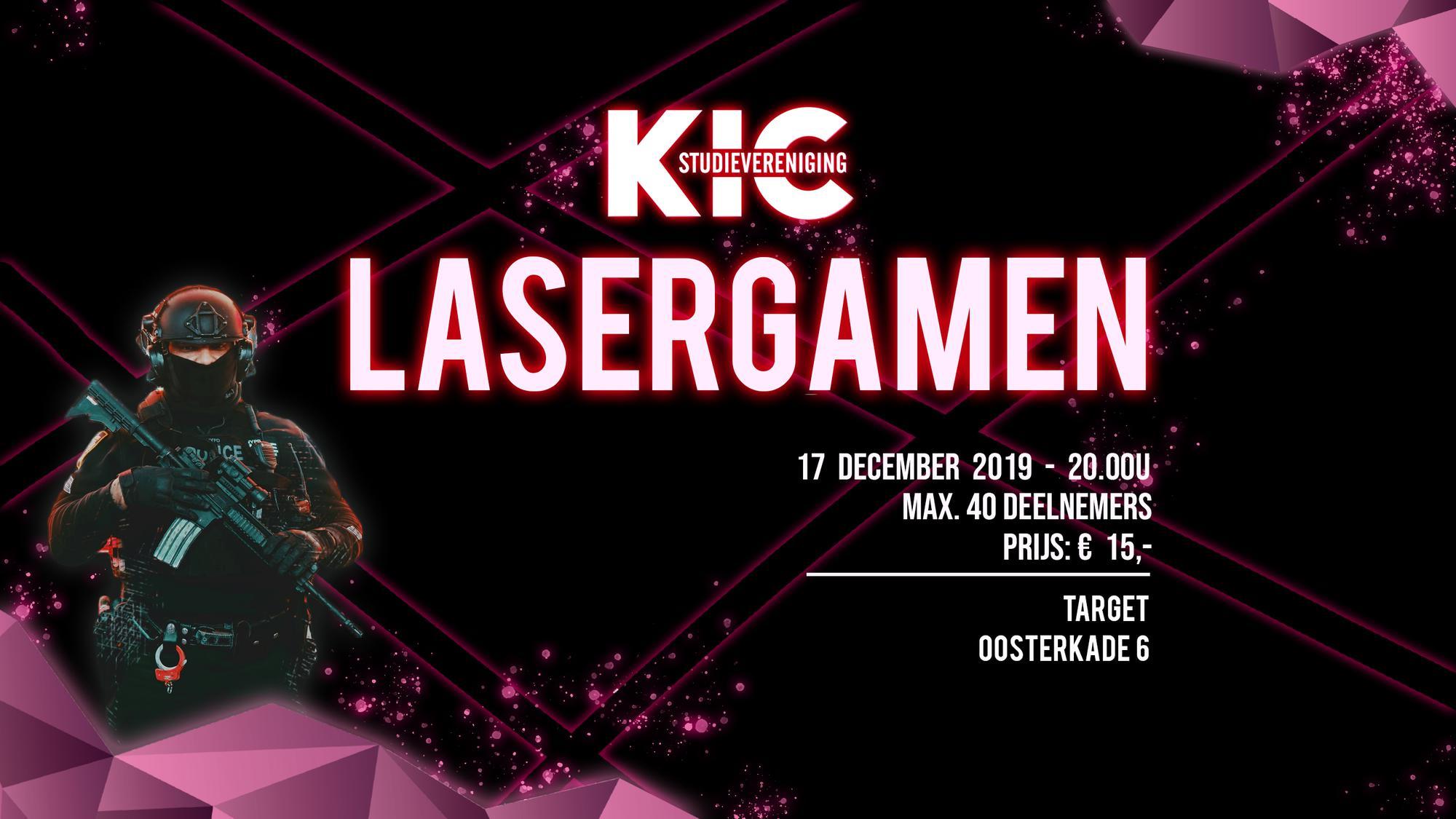 KIC: Lasergamen