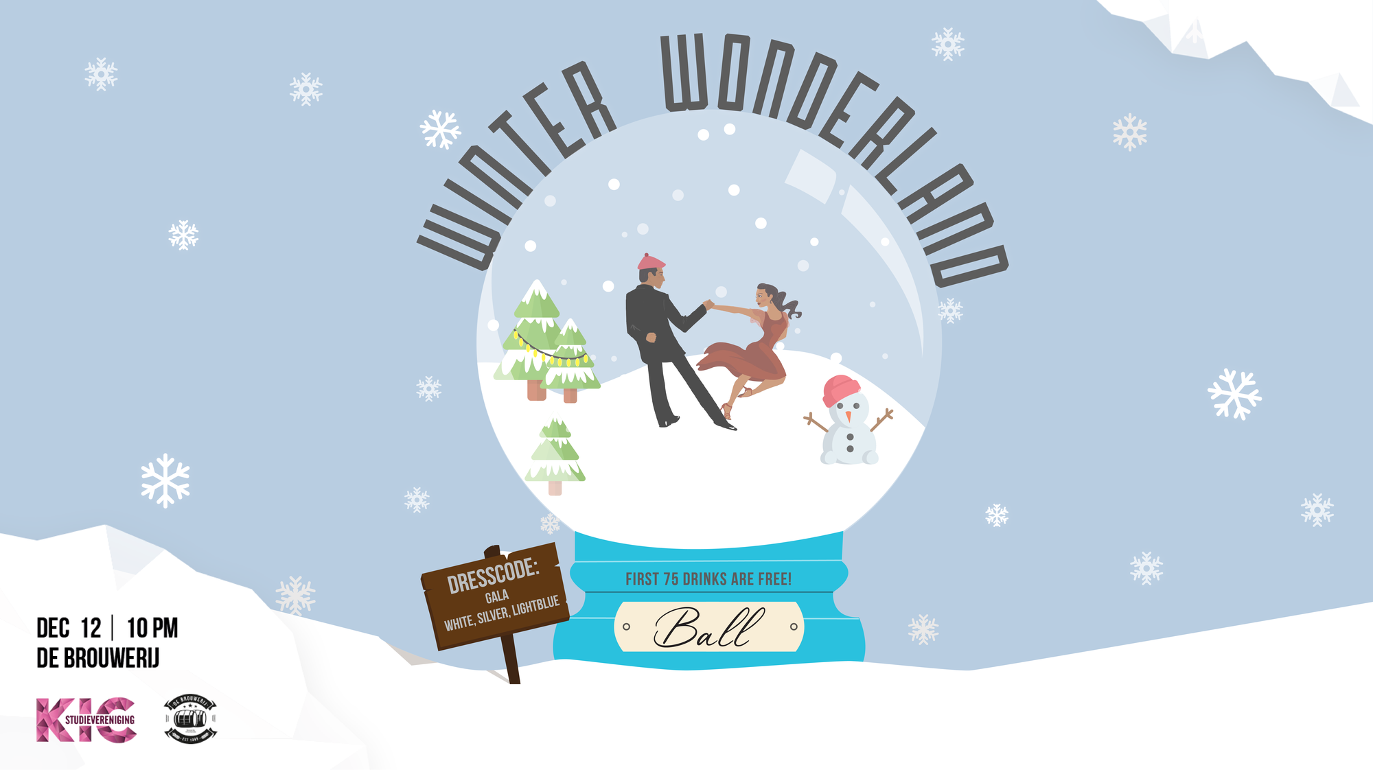 KIC Drink: Winter Wonderland Ball