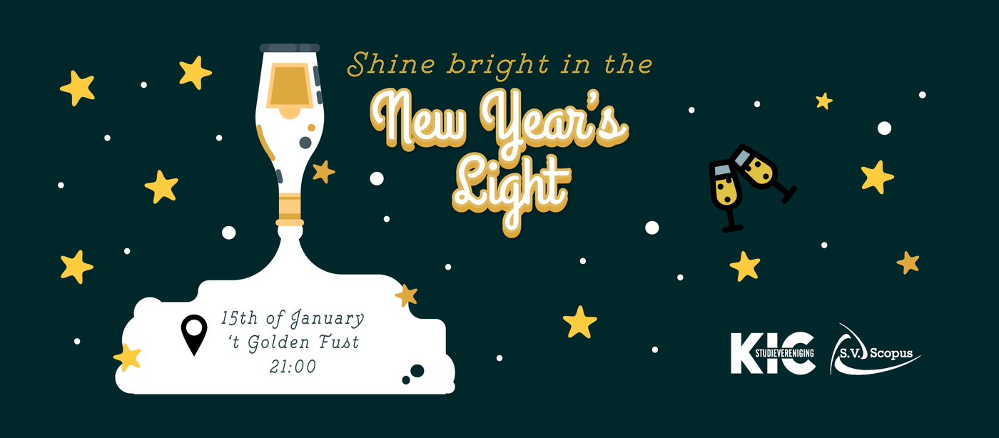 Shine bright in the New Year's light