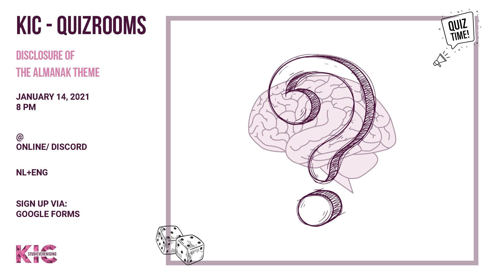 KIC presents: Quizrooms