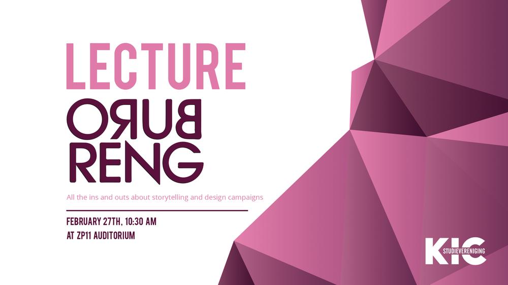 KIC Lezing: Buro Reng