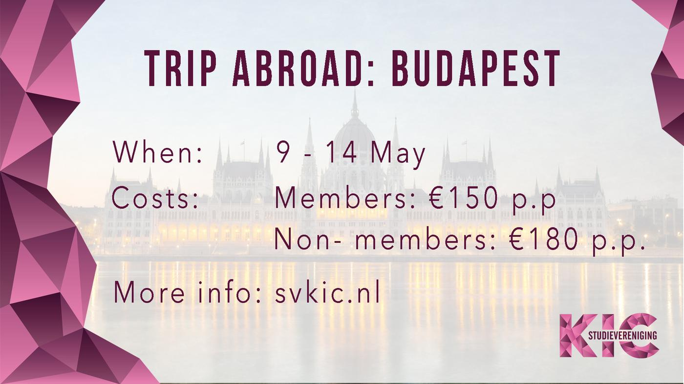 Trip Abroad: Budapest