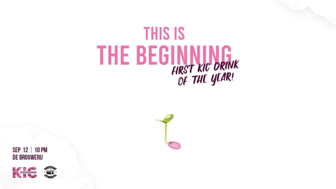 KIC Drink: This is the beginning