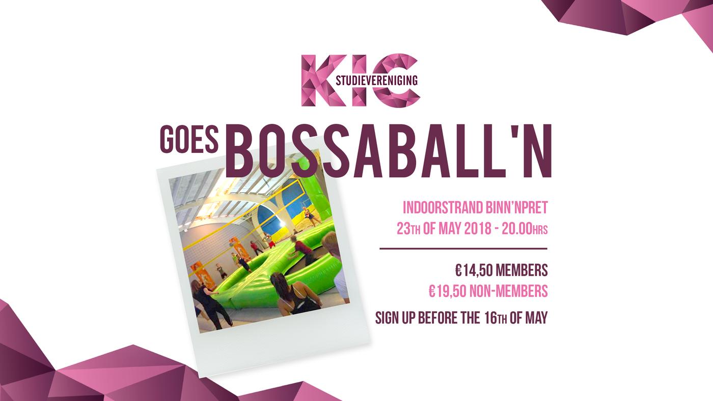 KIC goes Bossaballen