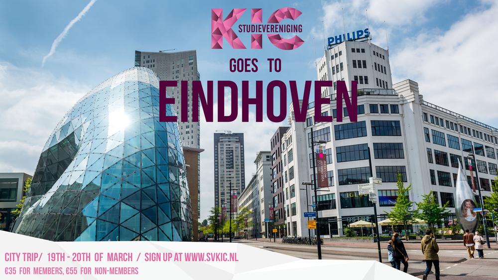 KIC Binnenlandse reis: Eindhoven