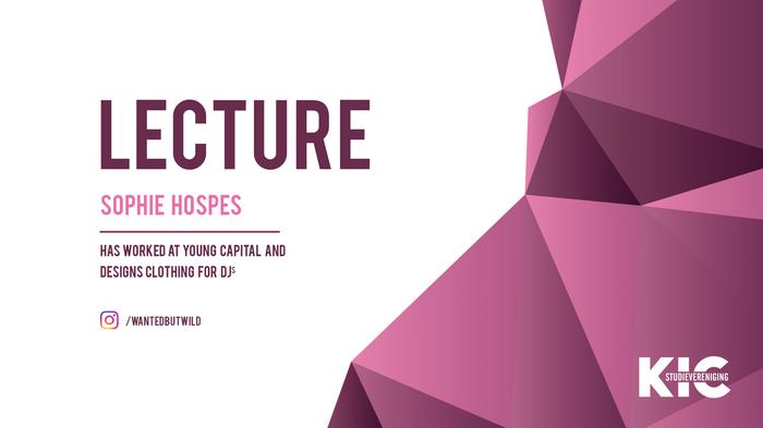 KIC Lecture: Sophie Hospes