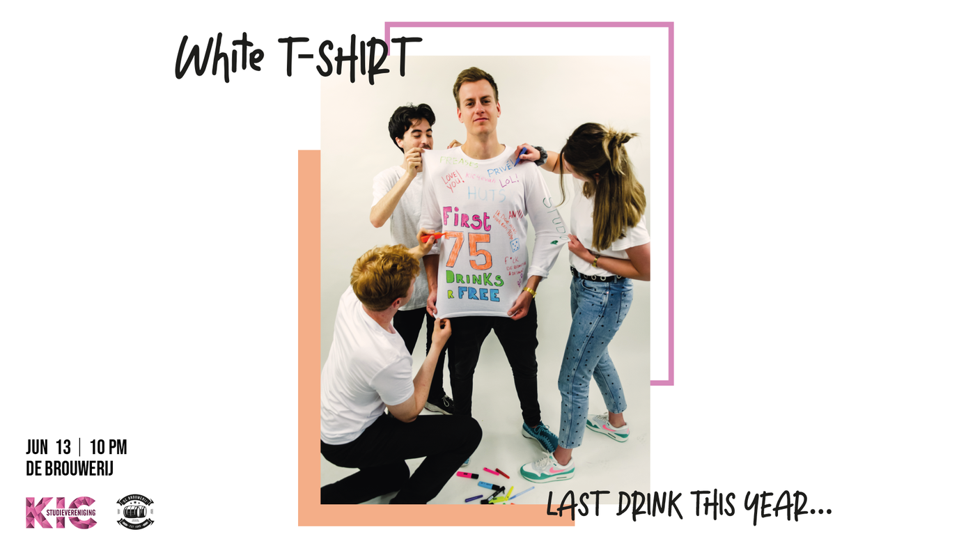 Drink: White T-shirt party